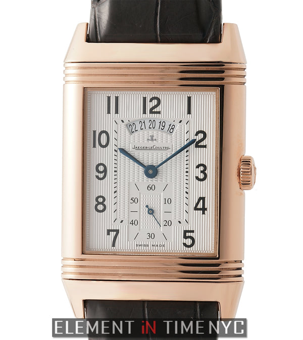 Grande Reverso 986 Duodate 18k Rose Gold 32mm LTD ED 500 Pcs.