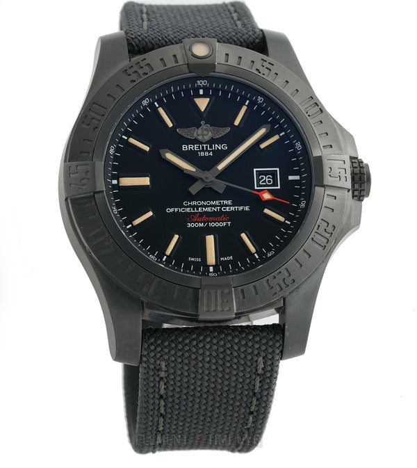 Blackbird Black Titanium 48mm Black Dial