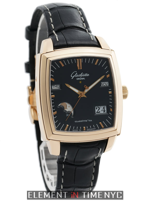 Senator Karee 18k Rose Gold Perpetual Calendar Moonphase 36mm 2006