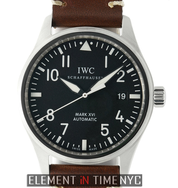 Mark XVI Black Dial Automatic 39mm