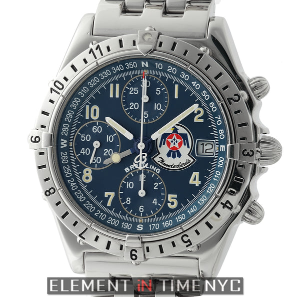 Thunderbird Chronograph Stainless Steel Limited 39mm 1994