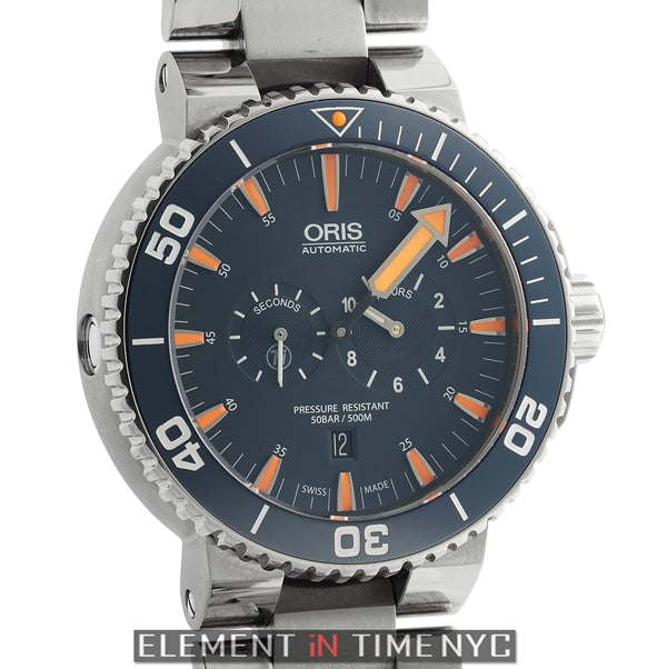 Tubbataha Limited Edition Diver's Titanium Watch Blue Dial