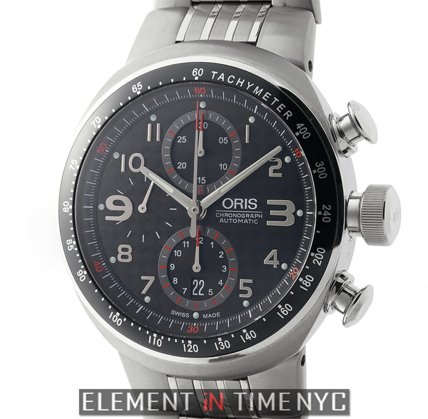 TT3 Motors Chronograph Titanium Carbon Dial 43mm