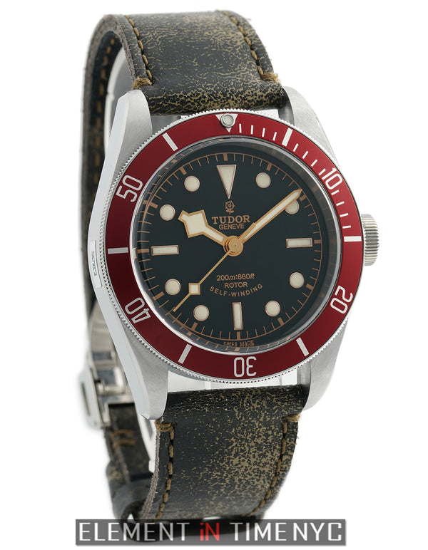 Black Bay Automatic Black Dial Red Bezel 41mm 2013