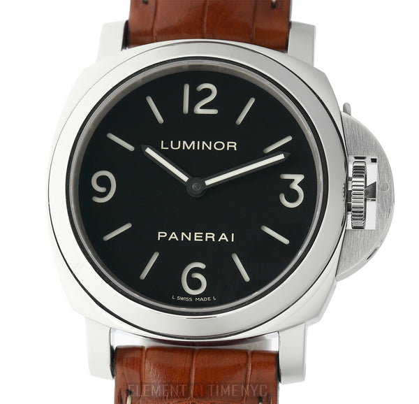 Luminor Base Steel 44mm Black Sandwich Dial Q Series 2014