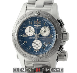 Mission Chronograph Stainless Steel 45mm Blue Dial 2009