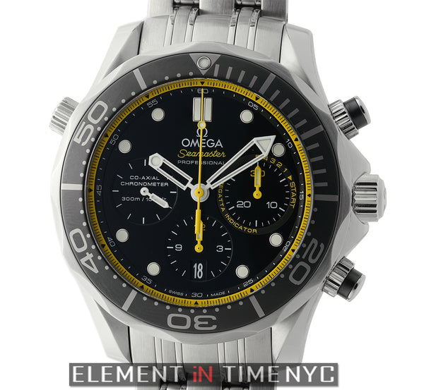 300m Diver Co-Axial Chronograph 44mm Black Dial 2015