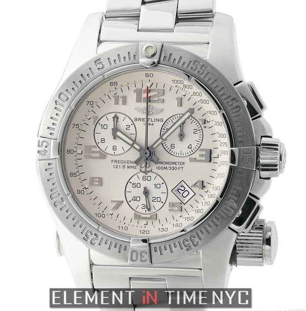 Mission Chronograph Stainless Steel Silver Dial