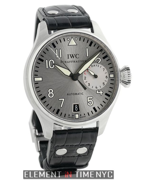 Big Pilot Father Edition 46mm Steel Silver Dial