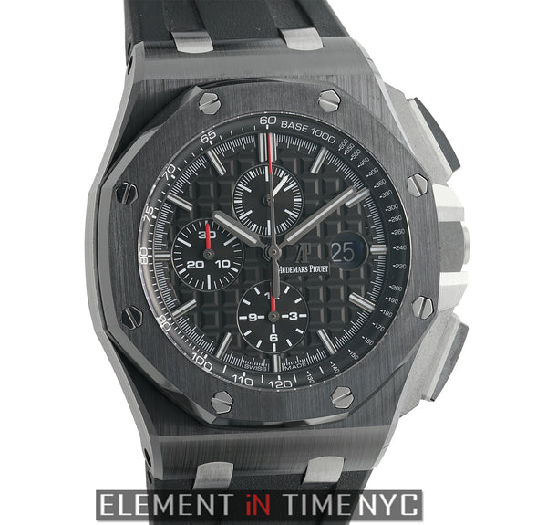 Chronograph Ceramic 44mm Black Dial