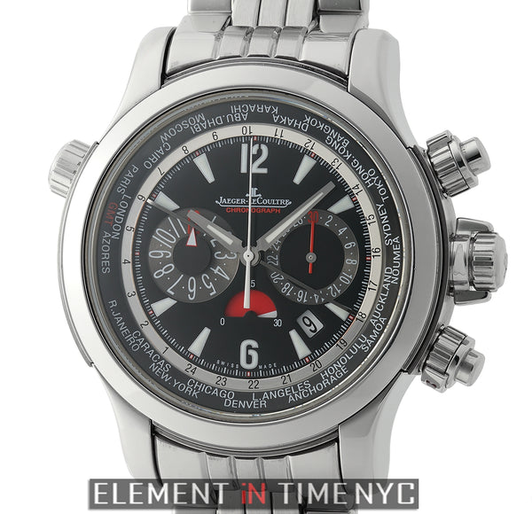 Extreme World Chronograph 46mm On Stainless Steel Bracelet