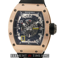 RM30 18k Rose Gold Automatic Declutchable Rotor