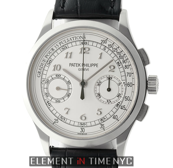 18k White Gold Pulsations Silver Dial 2013