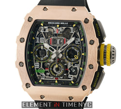 RM11-03 18k Rose Gold And Titanium Felipe Massa Automatic Flyback Chronograph