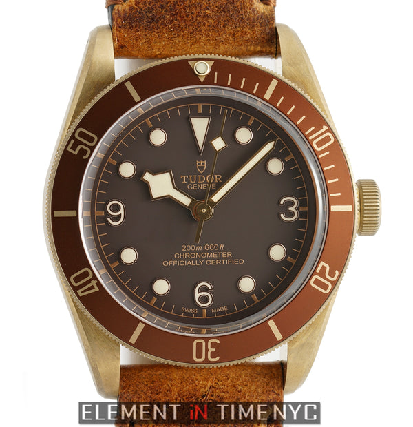 Black Bay Bronze 43mm Brown Dial
