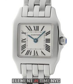 Demoiselle Stainless Steel Small Ladies 21mm Silver Dial
