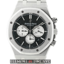 Chronograph Stainless Steel 41mm Black Dial