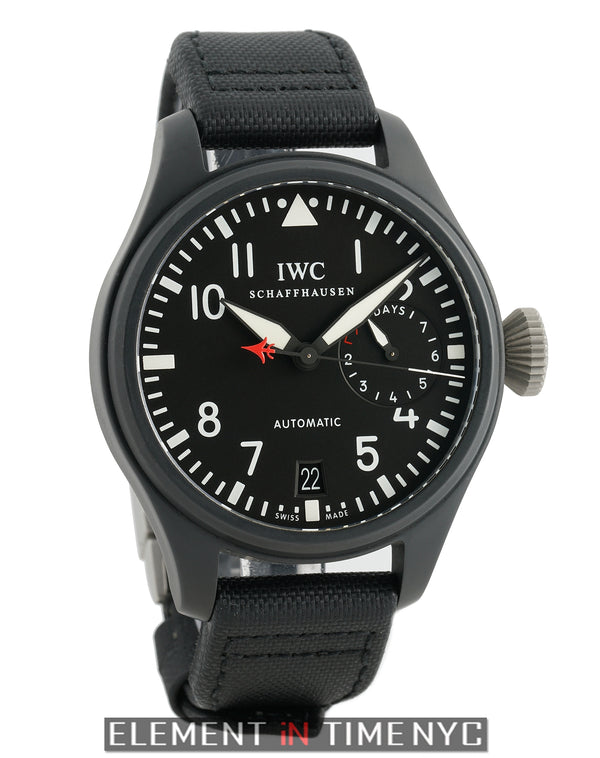 Big Pilot Top Gun Black Ceramic 48mm Black Dial