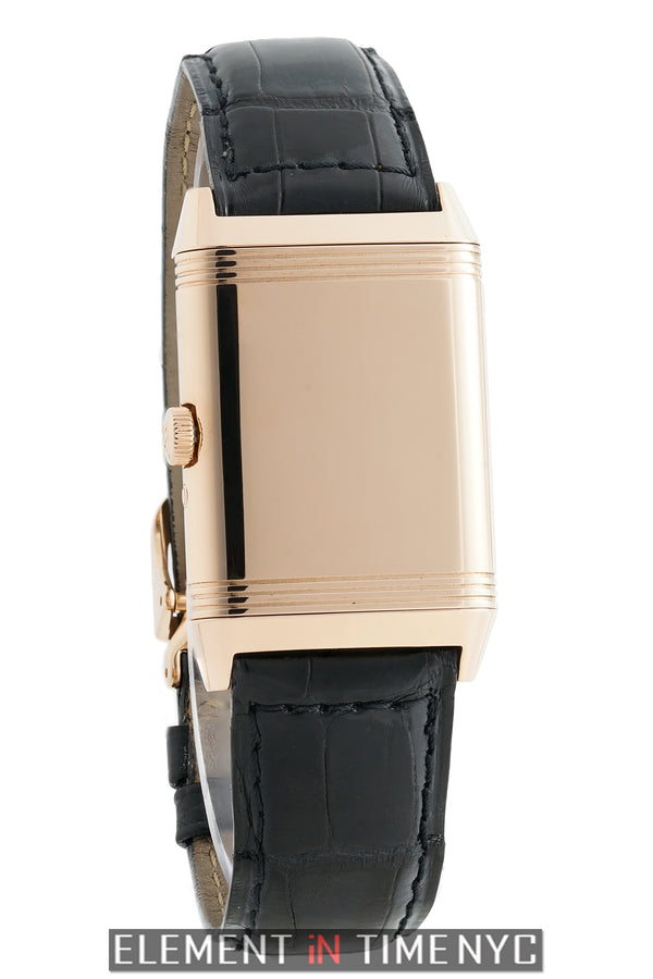 Reverso Day-Date 18k Rose Gold 26mm Silver Dial Circa 1999