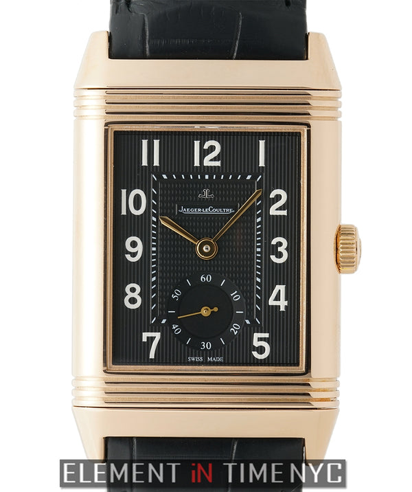 Grande Reverso 976 18k Rose Gold 30mm Exhibition Case Back