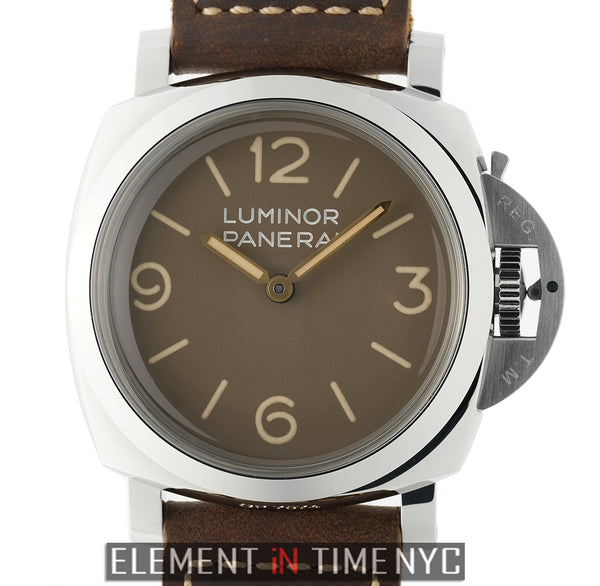 Luminor 1950 3 Days Steel 47mm Brown Dial XXXX/1000