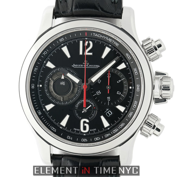 Chronograph 2 Stainless Steel 42mm Black Dial