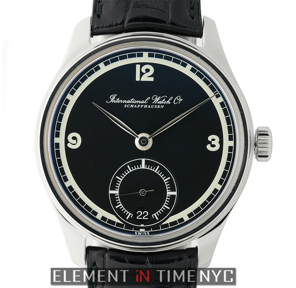 Hand Wound Eight Days 75th Anniversary Steel 43mm XXX/750