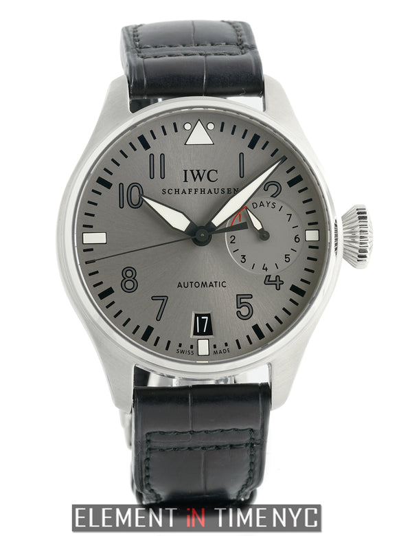 Big Pilot 18k White Gold 46mm Grey Dial Limited Edition 2011