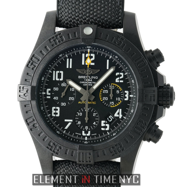 Hurricane 45 Black Breitlight Case Black Dial