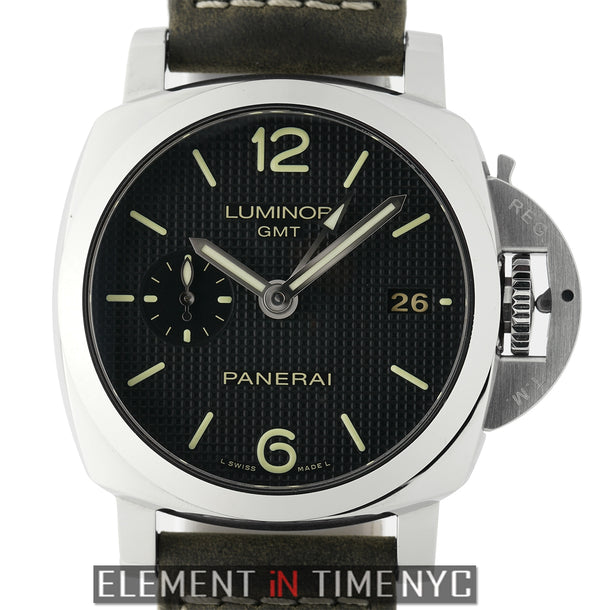 Luminor 1950 3 Days GMT Steel 42mm Waffle Dial Q Series