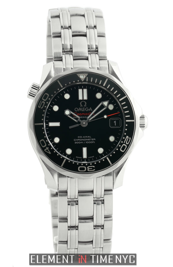 Diver 300m Co-Axial 36mm Black Dial Automatic