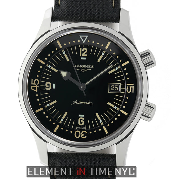 Legend Diver Stainless Steel 42mm Black Dial