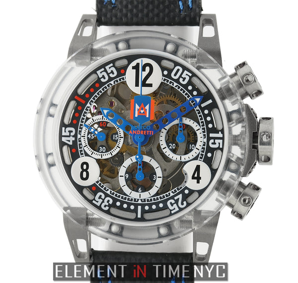 Super-Light Range Chronograph Makrolon Andretti LTD ED XX/30