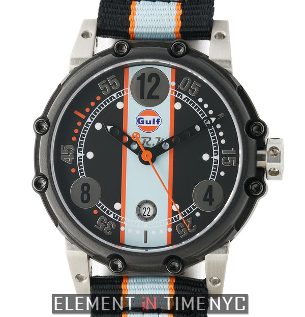 Gulf Edition Titanium/PVD 44mm Black Dial Automatic