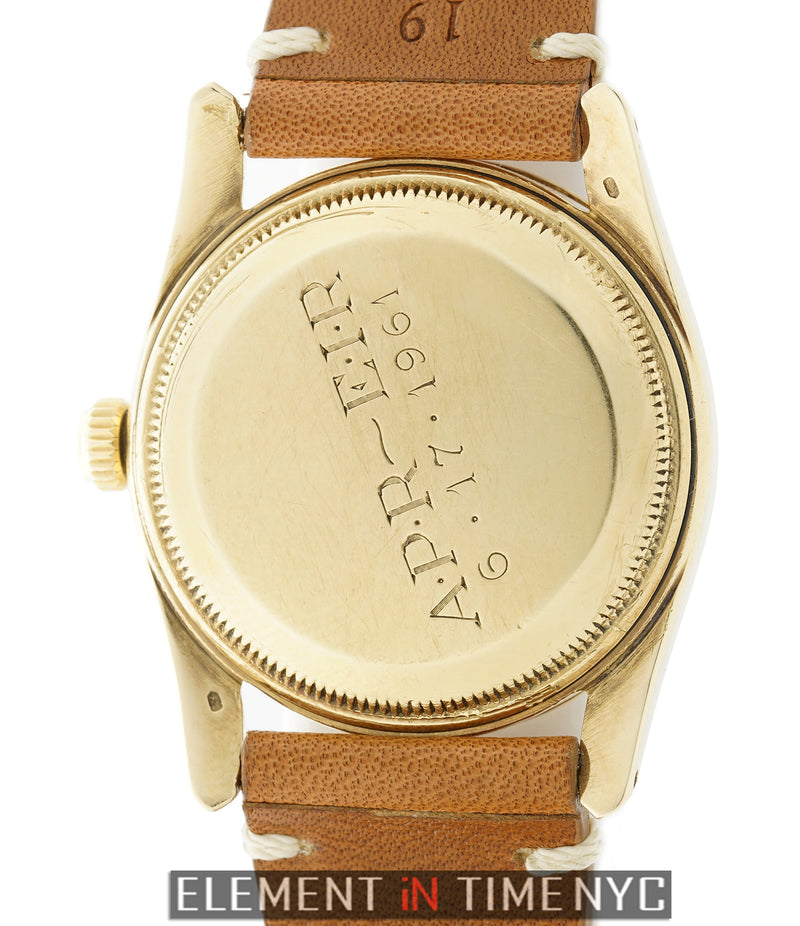 Bombay 14k Yellow Gold 33mm Circa 1961