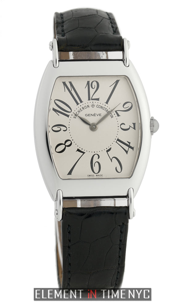 1912 Limited Edition 18k White Gold 31mm Silver Dial