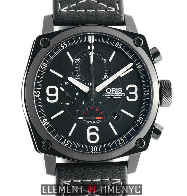 BC4 Chronograph DLC Coated Steel 45mm Black Dial
