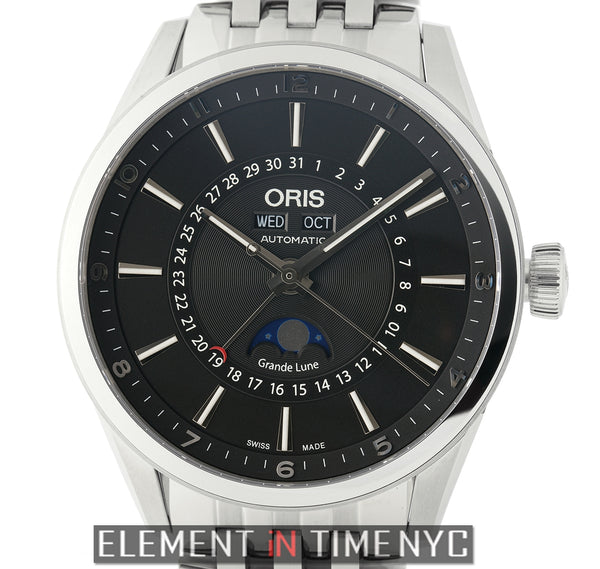 Artix Complications Stainless Steel 42mm Black Dial