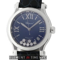 Medium 36mm Stainless Steel Blue Dial Automatic