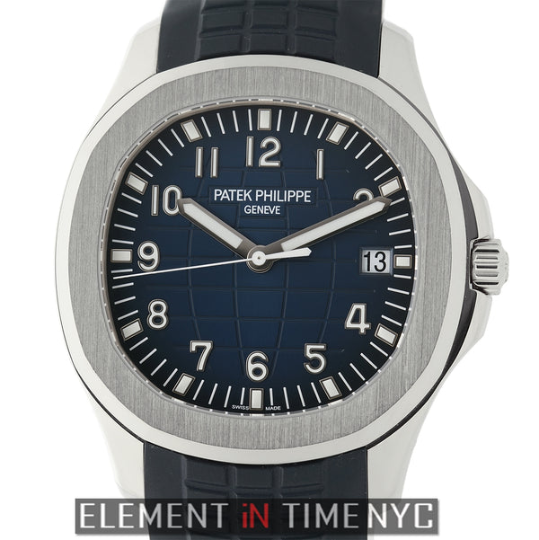 18k White Gold 42mm Blue Dial