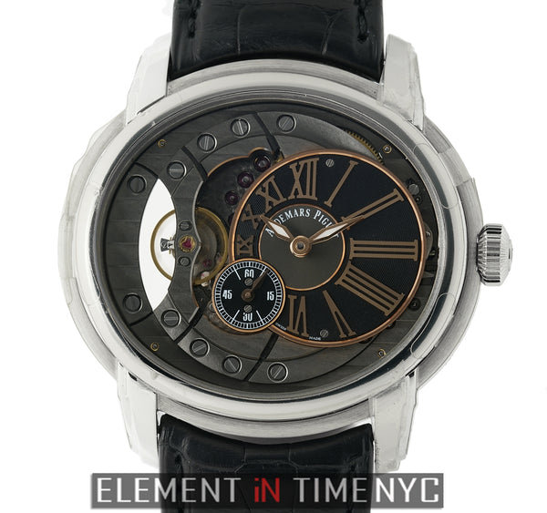 4101 Stainless Steel 47mm Grey Dial Automatic
