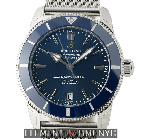 Heritage II Blue Automatic Date 42mm