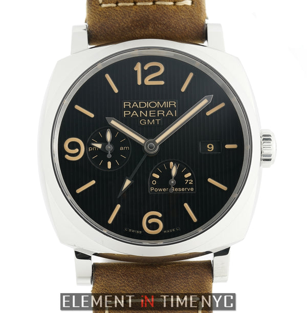Radiomir 1940 3 Day Power Reserve GMT Black Tuxedo Dial 45mm 2017