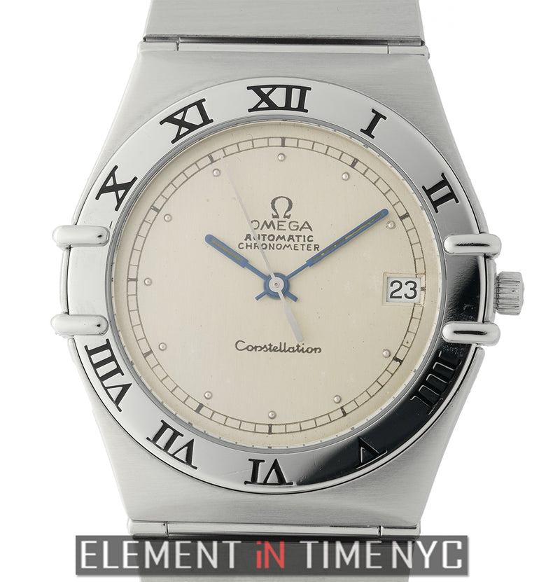 Stainless Steel 36mm Silver Dial Caliber 1111 Automatic