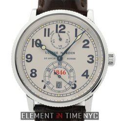 Chronometer 1846 Steel 38mm Silver Dial