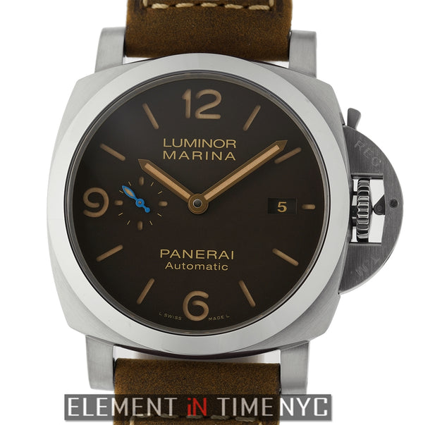 1950's Titanium 3 Day Automatic Brown Dial 44mm