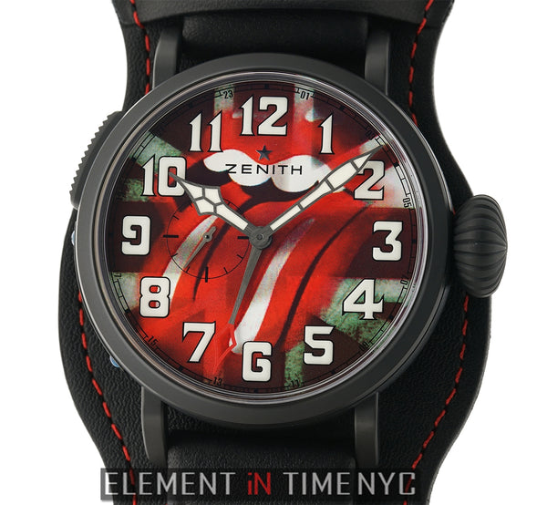 Type 20 GMT Rolling Stones Edition DLC Coated Titanium 48mm