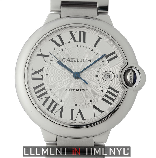 Stainless Steel Automatic Silver Dial 42mm 2016