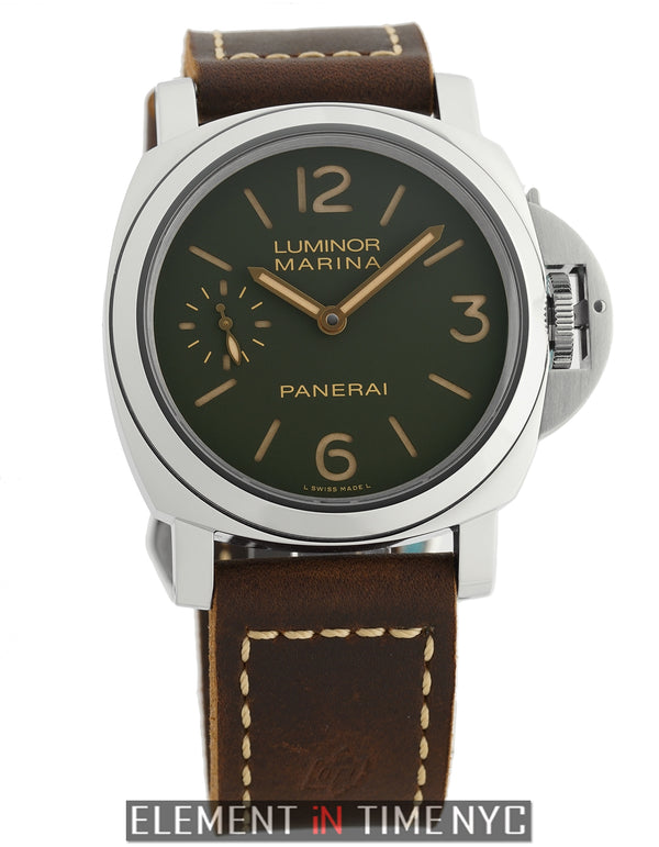 "Marina ""The Last One"" Green Dial 8 Day Paneristi Edition 44mm"