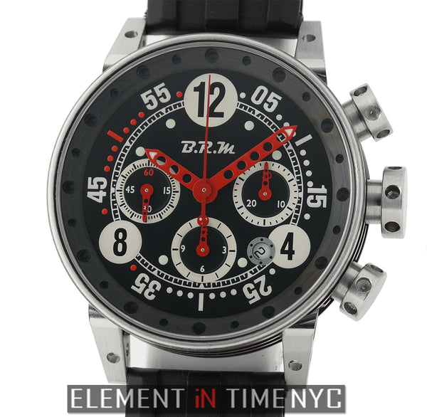 Bernard Richards Chronograph Steel 44mm Black Dial